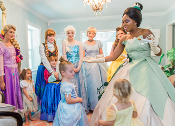 Book Your Tampa Princess Party