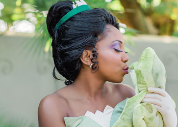 Hire Tiana for Party | Frog Princess | Tampa Princess Parties
