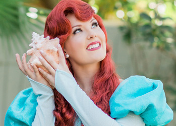 Hire Ariel for Party | Little Mermaid Princess | Tampa Princess Parties