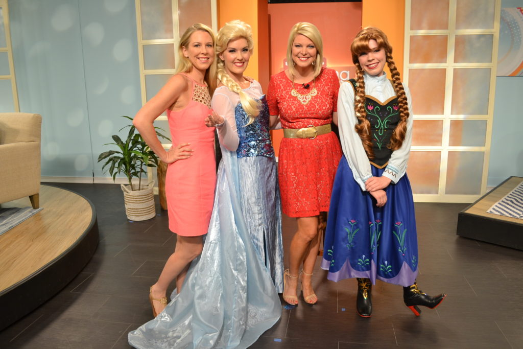 Ice Sisters from Parties with Character on Tampa Bays's Morning Blend