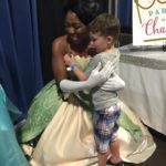 Parties with Character Frog Princess at Kids Day 2016 in Tampa