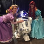 Parties with Character Princesses Meet R2D2 at Kids Day 2016
