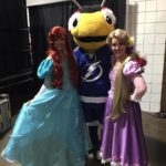 Parties with Character Princesses meet ThunderBug at Kids Day 2016 in Tampa