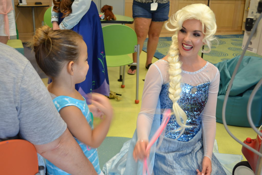 Tampa Princess Party at Johns Hopkins All Children's Hospital in St. Petersburg