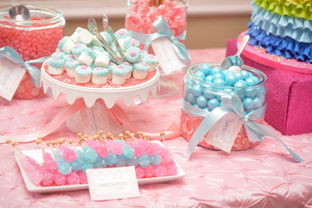 Tampa Princess Birthday Party Candy Table by Chic Sweets
