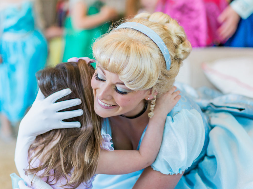 Tampa Princess Party Cinderella Eye Lashes
